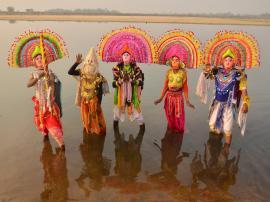Chhau Dancers