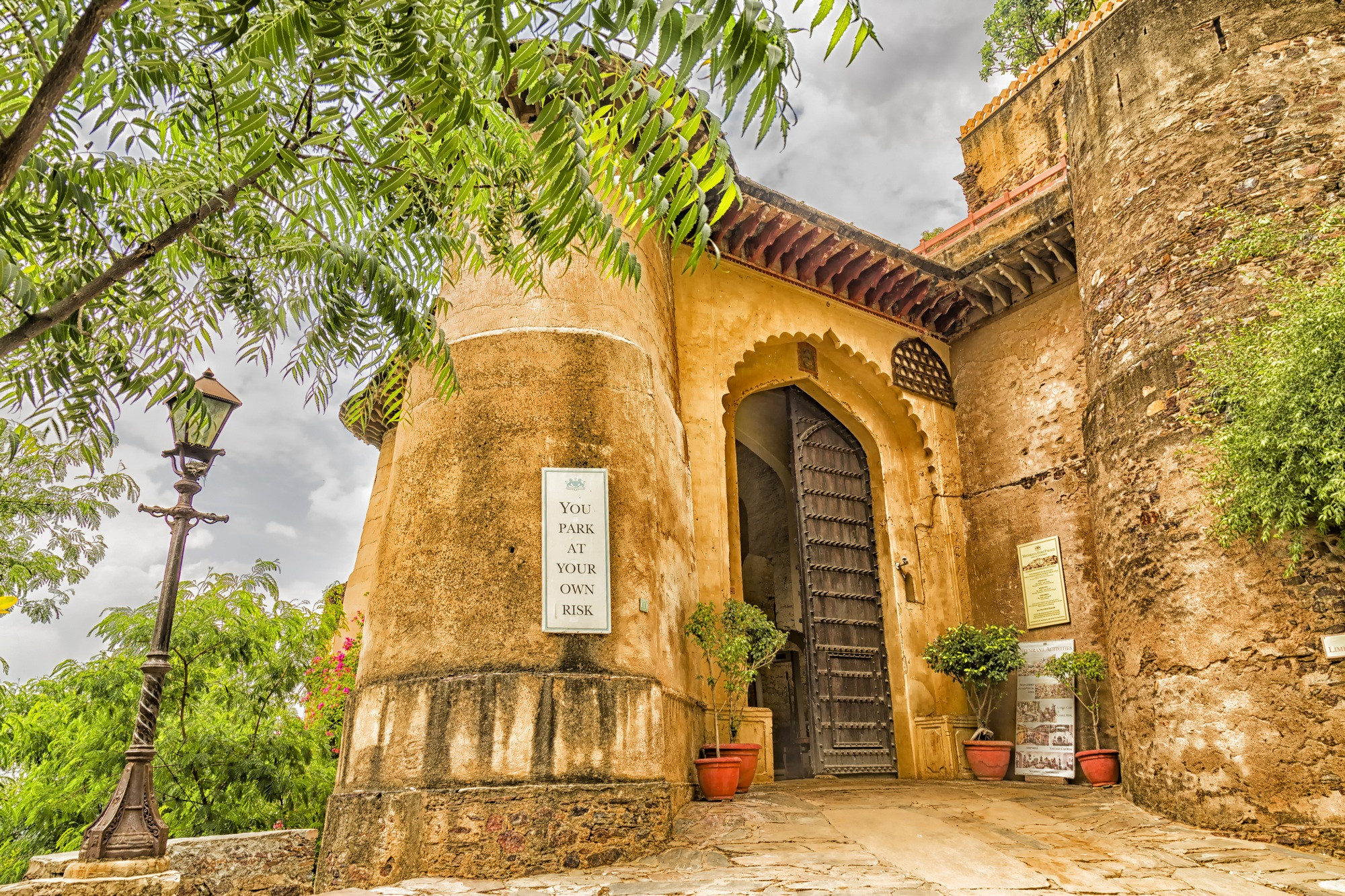 Main Gate of Neemrana Fort, Rajasthan