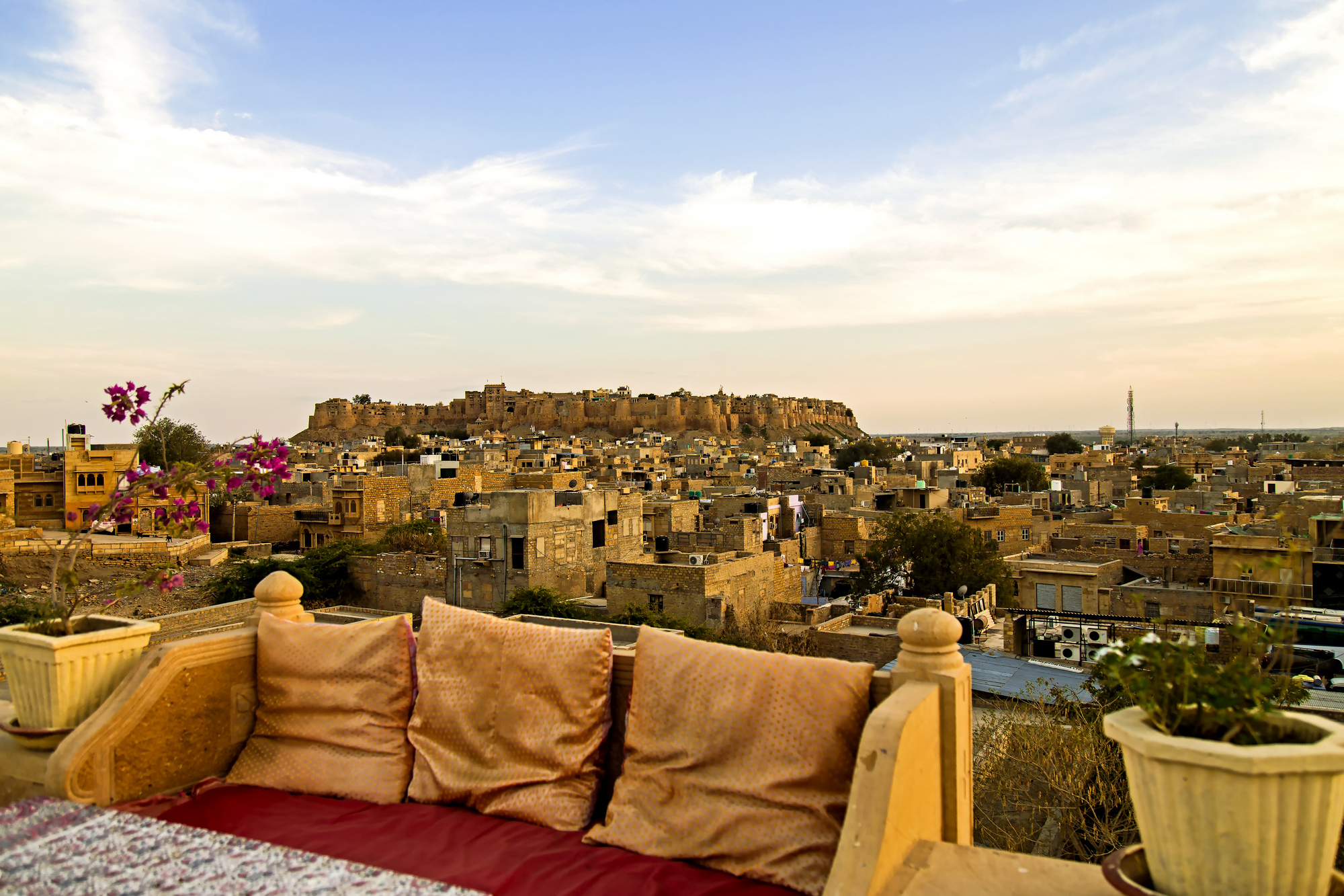 The Golden Fort at Jaisalmer, Rajasthan