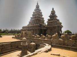 The Shore Temple at Mahabalipuram