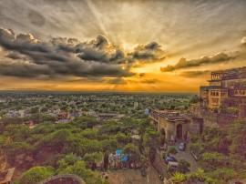 Sunset From Neemrana