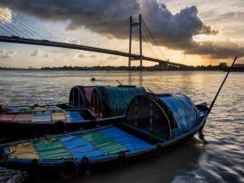 Boats on Hooghly