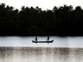 fishing in three shades